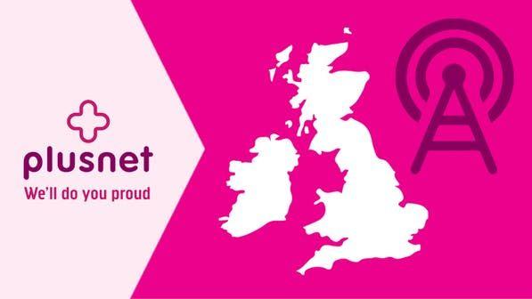 6GB 4G Data - 3000 Minutes & Texts - 30 Days Sim £10 @ Plusnet Mobile