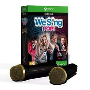 We Sing Pop with 2 MICS - XBOX /PS4 £9.99 at GAME + FREEDEL