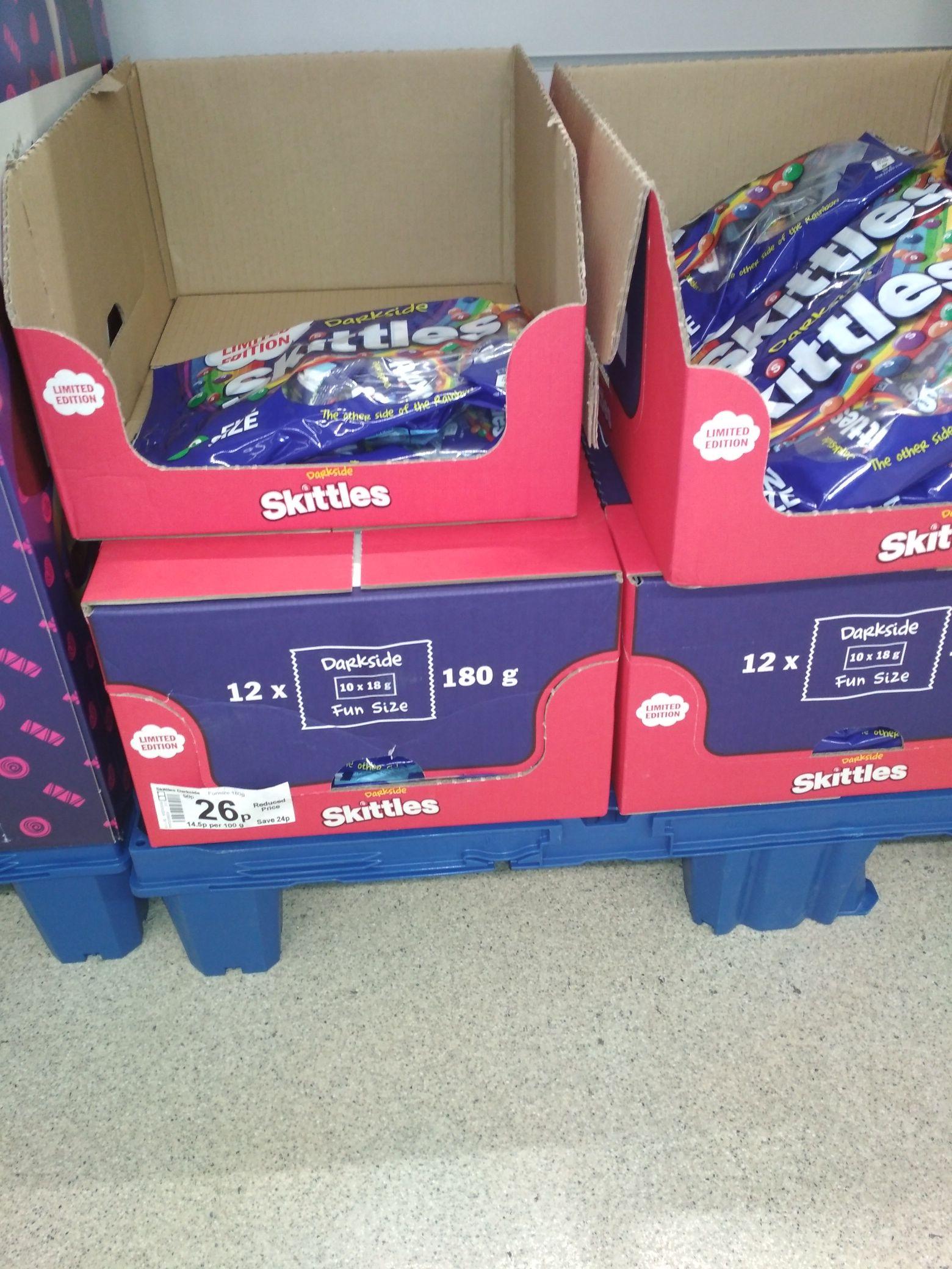 Skittles dark fruits fun size bags (10 bags) 26p @ Asda Folkestone