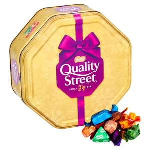 Quality Street Tin 871G £5.00 @ Tesco from 05/12