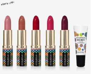 4 free samples when you spend £20 plus free delivery and returns @ Smashbox