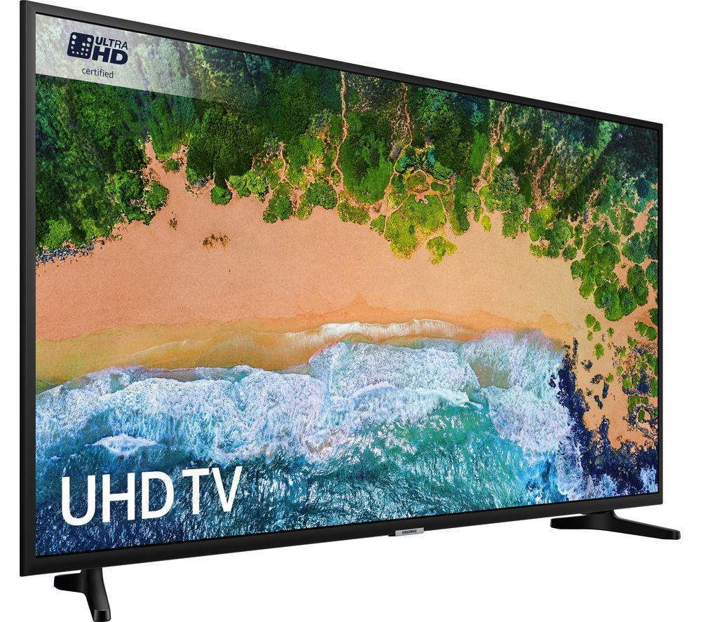 """SAMSUNG UE65NU7020 65"""" Smart 4K Ultra HD HDR LED TV & SAMSUNG UE55NU7020 55"""" Smart 4K £1198 @ Currys (click bundles)"""