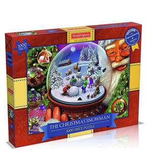 Waddington's 1000pc The Christmas Snowman Puzzle £7.99 delivered @ OnBuy / Phillips Toys