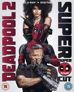 Deadpool 2 Blu-Ray £7.49 (with any purchase) @ HMV