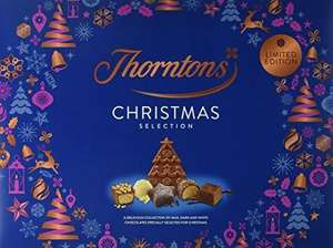 Thorntons Christmas Selection Chocolate Box Limited Edition 418g only £5 @ One Stop