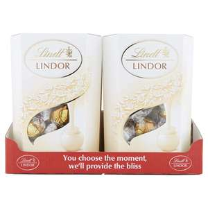 Lindt Lindor 60%  Chocolate Cornet 200 g (Pack of 2), £7 at amazon