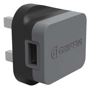 GRIFFIN POWERBLOCK MAINS QUICK CHARGE QUALCOMM 3.0 WALL CHARGER for £9.99 Free C&C/£2.95 Del @ Box