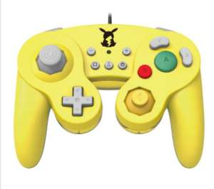 Nintendo Switch Smash Bros Pikachu & Princess Peach Gamecube Control Pad - £24.99 @ Nintendo.co.uk Free Delivery