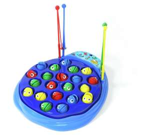 Chad valley fishing game & monkey flip game for £15 @ Argos
