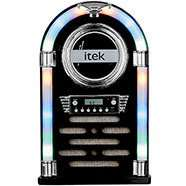 Retro Bluetooth Jukebox With Cd Player Radio Remote Control Colour changing LED lights Only £42 with Code Free Del or C&C @ The Works