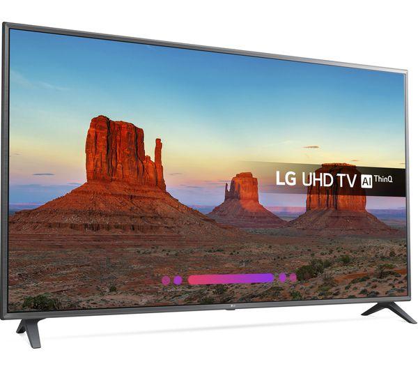 "LG 75UK6200PLB 75"" Smart 4K Ultra HD HDR LED TV £999 @ Currys"