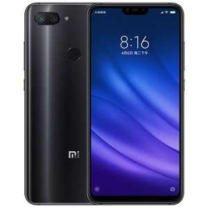 Xiaomi Mi 8 Lite Global Version 4G Phablet - BLACK - £175.56 @ Gearbest