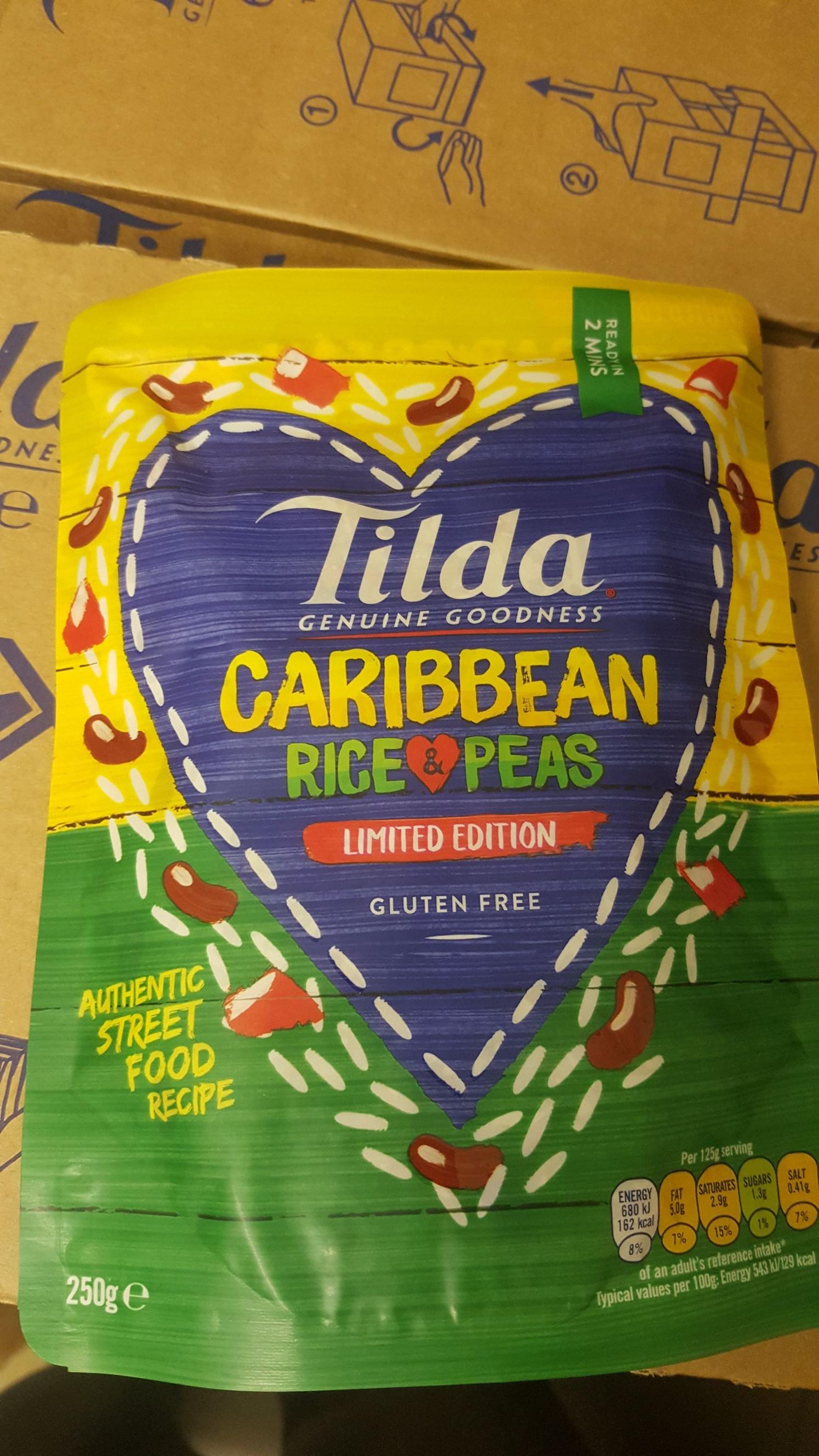 Tilda -  Caribbean Rice & Peas @ Aldi 85p