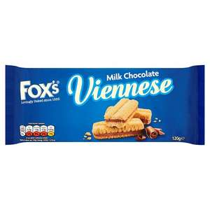 2 packs of Fox's Milk Chocolate Viennese Biscuits - £1 @ Poundland