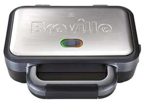 Breville VST041 Deep Fill Sandwich Toaster, Stainless Steel - Silver £24.99 @ Amazon