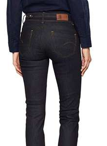 G-STAR RAW Women's Midge Saddle Mid Straight Wmn New Jeans, £10.29 at amazon Prime / Free Del for non-Prime with Code