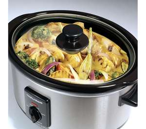 Morphy Richards Slow Cooker 3.5L - Stainless Steel was 39.99 now £19.99 Delivered @ Currys