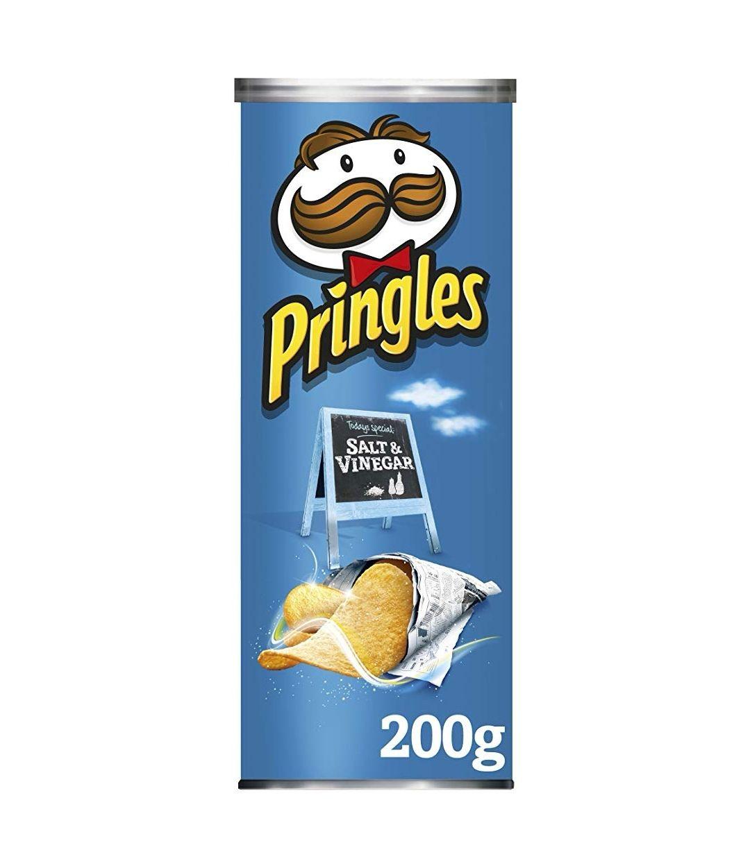 Pringles Salt and Vinegar Potato Crisps, 200g 90p w/voucher on page @ Amazon Pantry (First box £2.99 Del)
