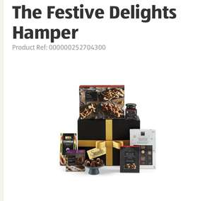 Aldi The Festive Delights Hamper £20 with code free delivery. Plus others in post..