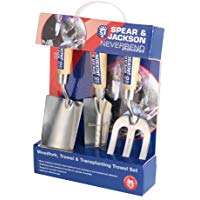 Spear & Jackson Neverbend Stainless Hand Tool Gift Set  includes Trowel, Transplanter & Weed Fork ONLY £12.74 @ Amazon prime