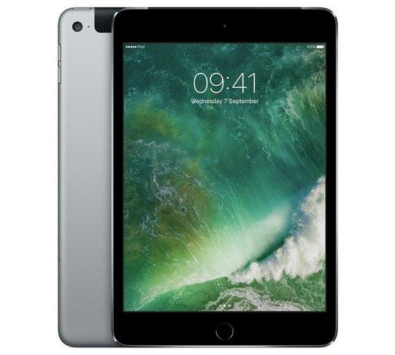 Apple Ipad mini 4 Wi-Fi 128gb space grey (& other colours) £299 @ Argos