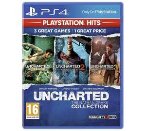 Uncharted Collection PS4 (Playstation Hits) £12.99 @ Argos