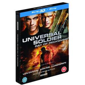 Universal Soldier Day Of Reckoning Steelbook 3D Blu-ray £5.99 365games.co.uk