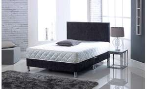 Visco Therapy Deluxe Memory Foam Coil Spring Rolled Mattress - Double £52.99 Amazon