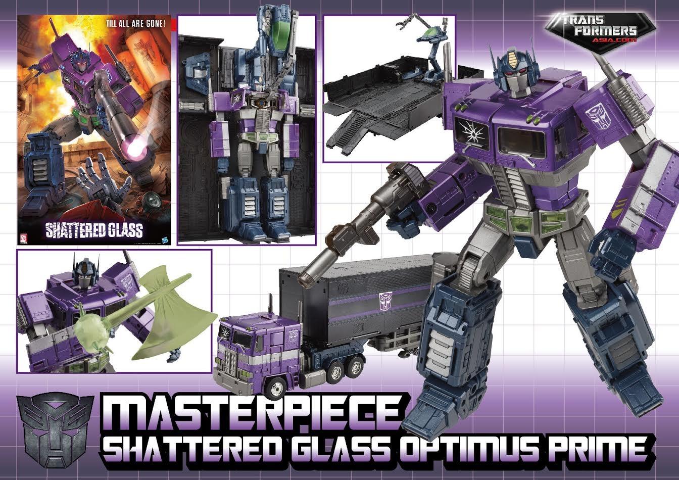 Optimus Prime Shattered Glass MP10 £69.99 + £2.95 postage at Kapow Toys