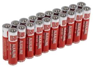 RS componants -  PRO Alkaline AAA Battery - BOGOF 40 for £8.64 at RS Components  with free delivery