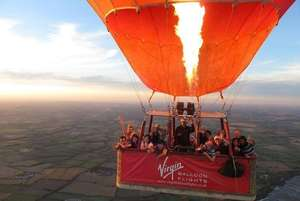 Virgin hot air balloon ride with champagne for one £99 at Wowcher