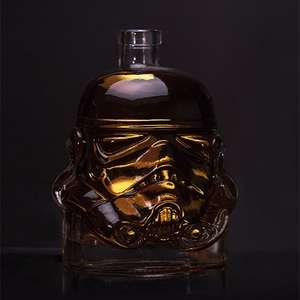Star Wars Glass Stormtrooper Decanter NOW £13.95 (Prime) / £18.44 (non Prime) at Amazon - free del until 5th using code