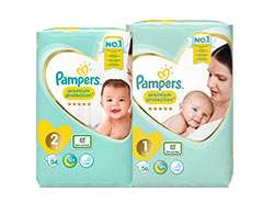 5 for £20 on Pampers Nappies and Baby pants plus £2 points back & half price nursery sale eg 6 muslins now £6.50 more in op @ Boots