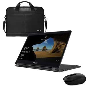 """ASUS ZenBook Flip 15.6"""" Touch 2-in-1 Laptop + Case & Mouse - i7 8550U  / 8GB RAM / MX150 / 1TB + 128GB SSD £977.99 @ Laptop Outlet"""