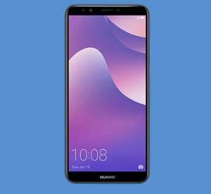 Huawei Y7 2018 16GB 2GB Blue & Black Available - 1 Month Contract £82 @ Carphone Warehouse