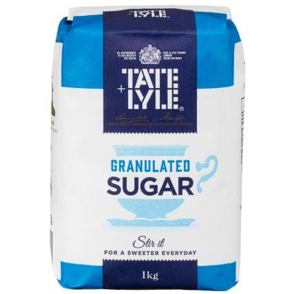 Tate & Lyle Cane Sugar Granulated 1kg ONLY 50p @ B&M