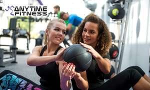 Anytime Fitness: 10 Gym or Class Day Passes for £10 plus £5 M&S e-gift card w/code (new account) @ Groupon