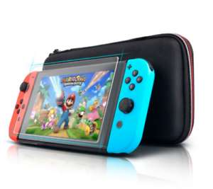 Nintendo switch travel bag carry case & screen protector - £6.95 @ central-supplies-limited  eBay