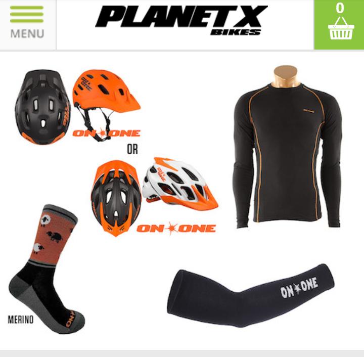 Cycling bundle - £30 @ Planet X +3.99£ postage
