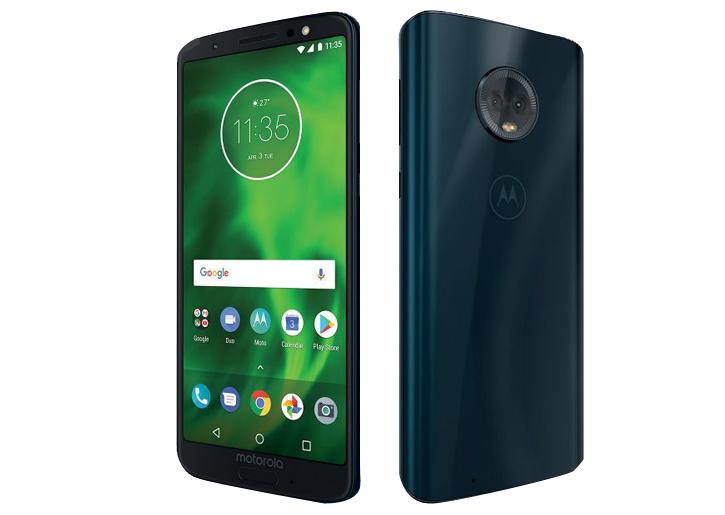 Moto G6 32GB (Dual-SIM) Deep Indigo @ Lenovo.com - £139.99