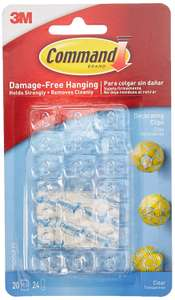 Command Damage Free 20 Decoration Clips for Christmas and Fairy Light £2.50 In-store & Online Free C&C @ Wilko ​