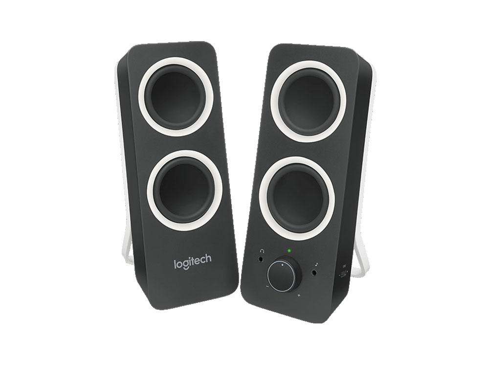 Logitech Z200 Multimedia Speakers/PC Speakers - Midnight Black £19.98 Prime / £24.47 Non Prime @ Amazon