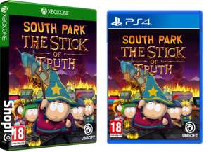 Ubisoft Adventure : South Park The Stick of Truth HD XBOX/PS4 FOR £8.85 Delivered @ (Ebay) ShopTo