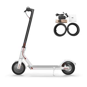 Flash sale 128pcs only - original Xiaomi M365 Folding Electric Scooter Europe Version - WHITE £295.26 at Gearbest