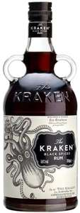 Kraken Black Spiced Rum, 1 Lltre @ Amazon Deal Of The Day £22.49 Delivered