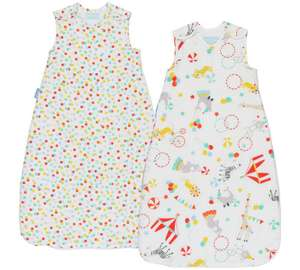 Various Grobag baby sleeping bags now £23.75 half price at Boots - free c&c