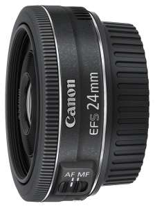Canon EF-S2428STM EF-S 24 mm f/2.8 STM Pancake Lens - £79  or Potentially £71.10 for students at Amazon