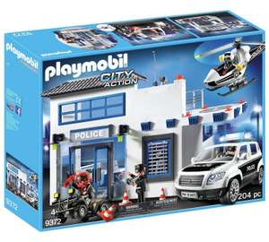 Playmobil 9372 City Action Police Station Bundle £29.99 @ Argos