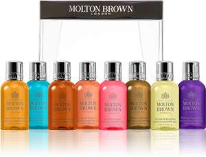 Free Discovery Collection (8 x 30ml Bath & Shower Gels) when you spend £90 @ Molton Brown
