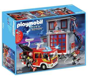 Playmobil 9052 City Action Fire Station Super Set £39.99 @ Argos